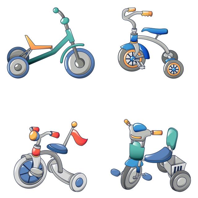 三輪車の種類は?どんな機能がある?,三輪車,1歳,