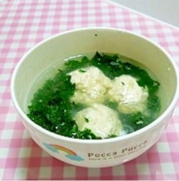 離乳食 後期~ 肉団子スープ,離乳食,後期,豆腐