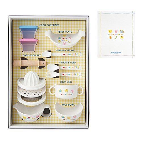 ミキハウスファースト テーブルウェアセット 46-7092-848,離乳食,調理グッズ,