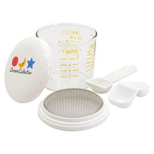 レック (LEC) Dream Collection ガラスのおかゆカップ T-256,離乳食,調理グッズ,