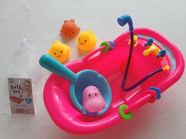 バストイ 楽しいお風呂遊び,100均,おもちゃ,赤ちゃん