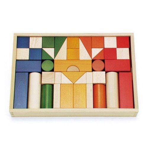 ボーネルンドオリジナル (BorneLund Original) オリジナル積み木 カラー 【積み木のほん付】 1歳頃 BZID001,1歳,知育玩具,おすすめ