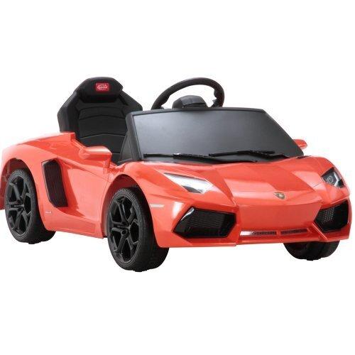 不二貿易 ランボルギーニ アヴェンタドール LP700-4 オレンジ 乗用可能ラジコン,乗用玩具,おすすめ,
