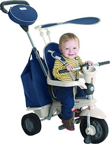 【正規ライセンスモデル】三輪車 かじとり ボヤージュ Smart Trike voyage【日本正規品】 (ブルー),赤ちゃん,三輪車,