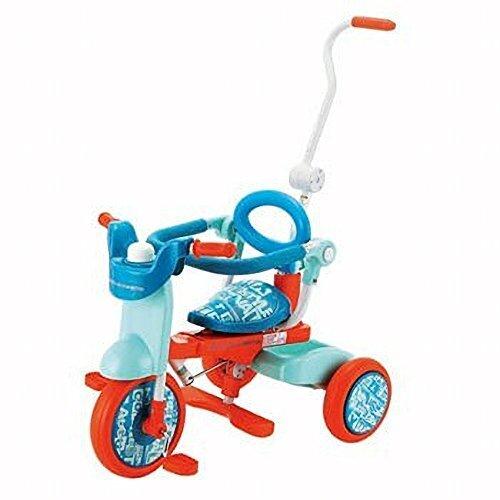 BENETTON(ベネトン) オリトリオ2三輪車 ライム/ブルー YA-1319,赤ちゃん,三輪車,