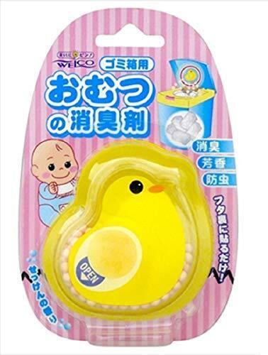 【まとめ買い】ひよこのおむつの消臭剤 1こ入り ×2セット,おむつ,ゴミ箱,