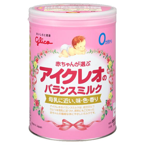 アイクレオのバランスミルク800g,粉ミルク,