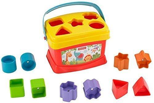 フィッシャープライス はじめてのブロック (K7167),知育,立体パズル,おもちゃ