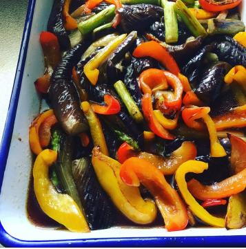 塩分と油控えめ夏野菜の揚げ浸し,妊婦,レシピ,夏