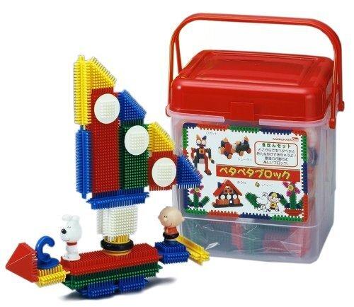 ほのぼのペタペタブロック きほんセットSB235レッド,おもちゃ,ブロック,