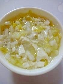 キャベツと豆腐のうどん(離乳食中期) ,離乳食,中期,