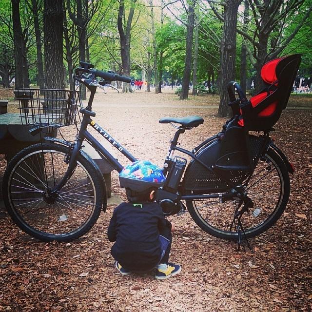 子供乗せ自転車と子供,おしゃれ,おすすめ,子供乗せ自転車