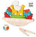 プラントイ 木のおもちゃ PLANTOYS バランスボート 動物 積み木 木製玩具 知育玩具,知育玩具,2歳,