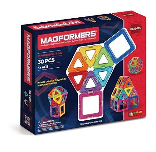 ジムワールド マグ・フォーマー ベーシックセット30ピース MF701005,知育玩具,3歳,おすすめ