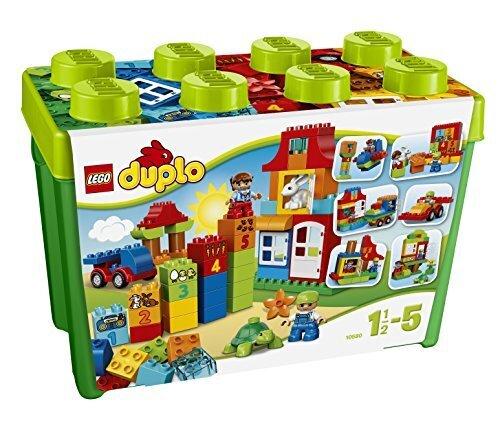 レゴ (LEGO) デュプロ みどりのコンテナスーパーデラックス 10580,知育玩具,3歳,おすすめ