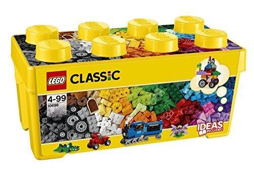 レゴ (LEGO) クラシック 黄色のアイデアボックス<プラス> 10696,知育玩具,3歳,おすすめ