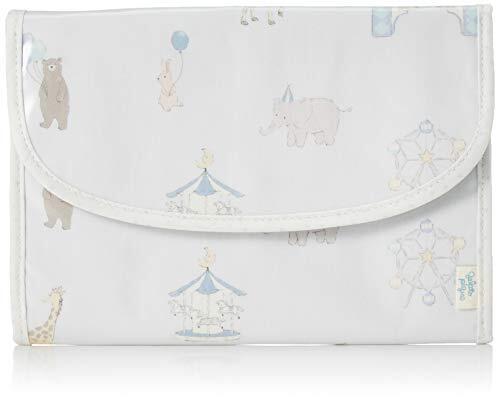 [ジェラート ピケ] ピケランド柄ジャバラ型母子手帳ケース PWGG204795 BLU,母子手帳,