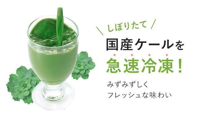 「ザ・ケール 冷凍タイプ」急速冷凍,青汁,プレママ,栄養