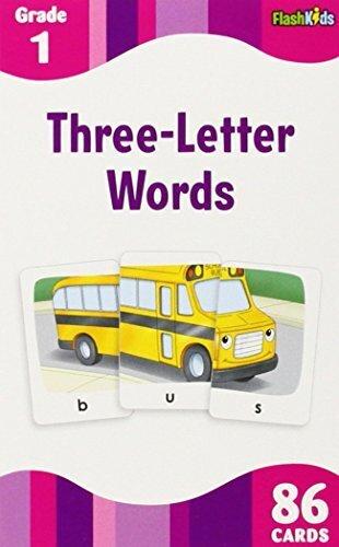 3 Letter Words (Flashkids Flash Cards),知育玩具,4歳,