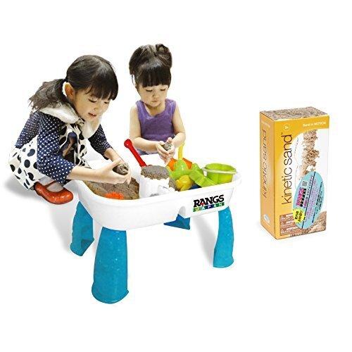 ラングスジャパン(RANGS) キネティックサンドテーブルセット,知育玩具,4歳,