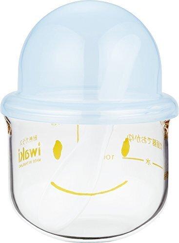 iwaki 離乳食調理器 おかゆこがま 耐熱ガラス 200ml KMC202-BL 064303,おかゆクッカー,