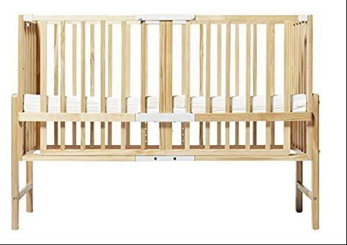 ベビーベッド 添い寝 そいねーるIII 3 大和屋 コンパクト 専用マットレス付き 収納付き 赤ちゃん用ベッド 安全に添い寝ができる 高さ調節 寝具 ロング 新商品 (ナチュラル),ベビーベッド,おすすめ,