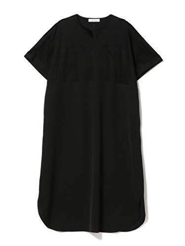 (メリアビームス)Merrier BEAMS/マタニティウェア LA CYBELLE コットン スムース ワンピース 21(マタニティ対応) レディース BLACK ONE SIZE,マタニティウェア,ブランド,