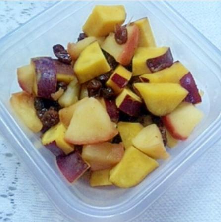 妊婦さんに★さつま芋・リンゴ・レーズンのレモン煮,秋,妊婦,レシピ