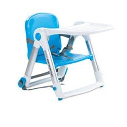 Apramo Flippa Dining Booster ポータブルブースター,チャイルドシート食事の椅子ダイニングテーブル(並行輸入品) (Blue),ベビーチェア,