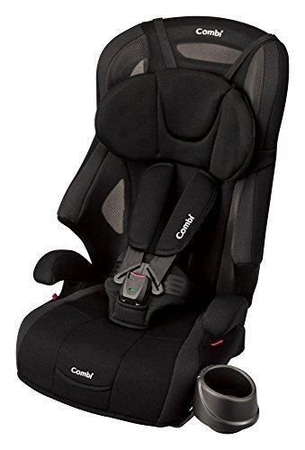 [Amazon限定ブランド] Combi(コンビ) fugebaby シートベルト固定 チャイルド&ジュニアシート 1歳頃から11歳頃まで ジョイトリップ エアスルー GG ブラック 通気性に優れたエアスルーモデル,チャイルドシート,人気,