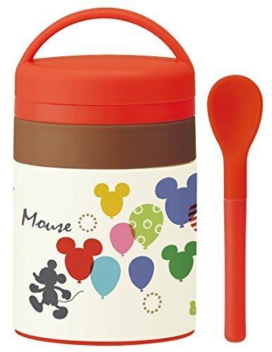 SKATER 離乳食 保温 保冷 ステンレスポット 180ml ミッキー バルーン スープポット スープジャー ミッキーマウス ディズニー LJFC2,離乳食,持ち運び,
