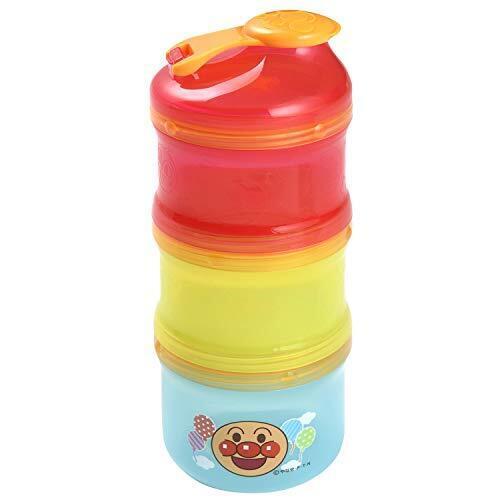 レック(LEC) アンパンマン 2WAY ミルクケース (離乳食保存兼用) 3個アソート KK-181,離乳食,持ち運び,