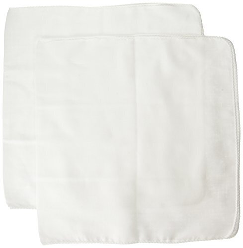 ファブリックプラス 赤ちゃん用ガーゼ沐浴布 コットンガーゼ(80本ガーゼ)日本製 35×70cm 2枚セット ピュアホワイト(無蛍光) 綿100%,沐浴布,使い方,