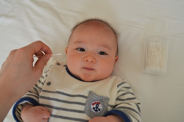赤ちゃん 耳掃除,ベビー綿棒,