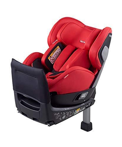 Recaro ISOFIX固定 Salia サリア 新生児チャイルドシート スポーティレッド 0か月~ (1年保証) 00089025910080,チャイルドシート,新生児,