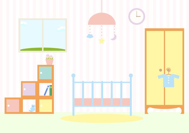 赤ちゃんの部屋,ベビー家具,インテリア,