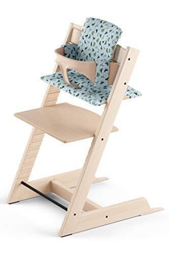 STOKKE トリップトラップ 3点セット ( チェア本体 + ベビーセット + クッション ) ナチュラル,ベビー家具,インテリア,