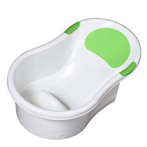 永和 新生児用ベビーバス お風呂でもキッチンのシンクでも使えるバスタブ グリーン 1個 (x 1) 498111,ベビーケアグッズ,基礎知識,選び方