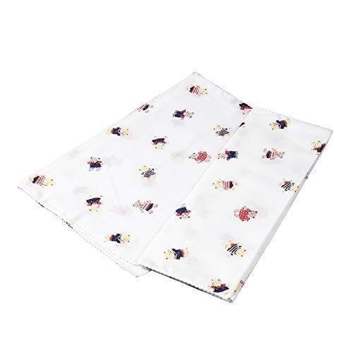 イサム商会 綿100% 日本製 ガーゼ入浴タオル ベアー柄 33x70センチメートル (x 2) 2枚,ベビーケアグッズ,基礎知識,選び方