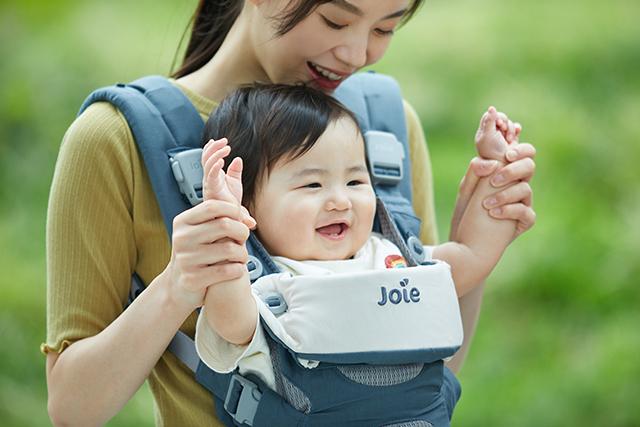 メッシュ素材で通気性◎汗っかきな赤ちゃんも快適,ベビーキャリア,カトージ,