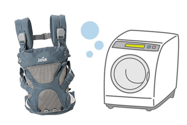 洗濯機で丸洗いができるのでいつでも清潔な状態を保てる,ベビーキャリア,カトージ,