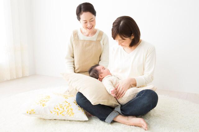 赤ちゃんとママとおばあちゃん,産後サポーター,おすすめ,選び方