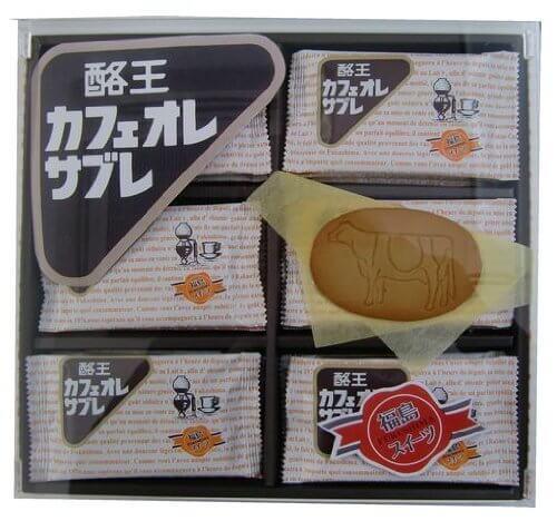 【福島スイーツ】酪王カフェオレサブレ18枚,B1グランプリ,福島,グルメ