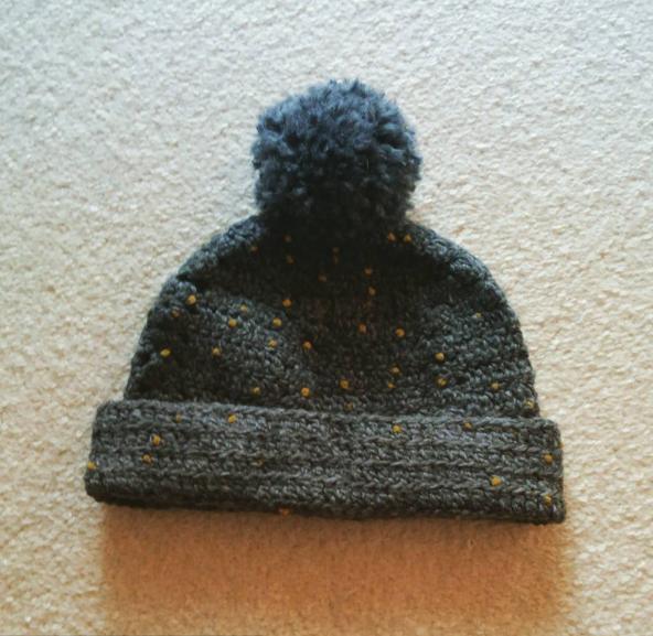 長編み ニット帽,ベビー,ニット帽,編み方
