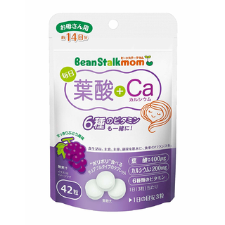 ビーンスターク 毎日葉酸+Ca