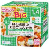 BIGサイズの栄養マルシェ 鮭と根菜の五目ごはん弁当 130g+80g