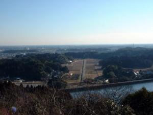 千葉市昭和の森公園の全景
