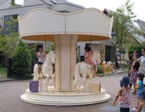 横浜の住宅展示場「ハウススクエア横浜」のイベント「遊園地」