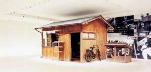 カップヌードルミュージアムの百福の研究小屋