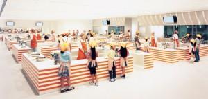 カップヌードルミュージアムのチキンラーメンファクトリー